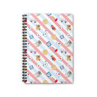 Postal Hamsters Spiral Notebook - Ruled Line