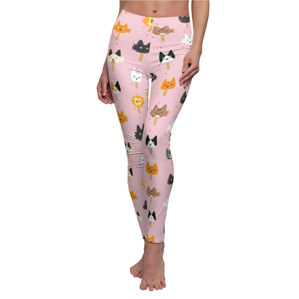 Popsicle Cats Casual Leggings