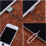 Epresent 10 x iPhone Sim Card Tray Open Eject Pin Key tool Compatible for All Smartphones