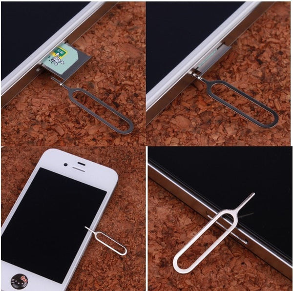 10 x iPhone Sim Card Tray Open Eject Pin Key tool Compatible for All Smartphones
