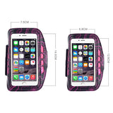 Epresent Arm Band ROMIX 3 Mode LED Lights Sports Armband Running Cycling Cover Case For 5.5 Inches iPhone 7 Plus 6/6s Plus Arm Band Holder Brassard Running