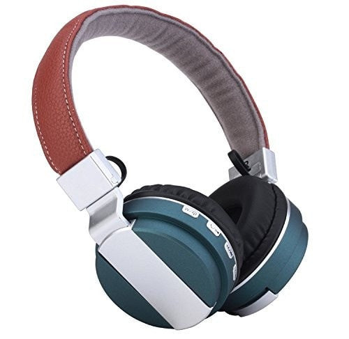 Bluetooth Headphones Stereo With Microphone TF Card Micro SD FM Radio On Ear Headphones Handsfree Bluetooth Headphones