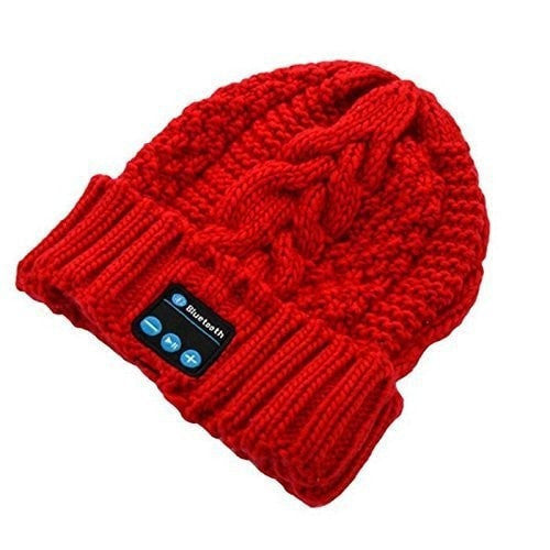 Bluetooth Beanie Cap Hat for Men Women Outdoor Sport Bluetooth Music Hat With  Mic Bluetooth Hat Men Sports Hat for Smartphones
