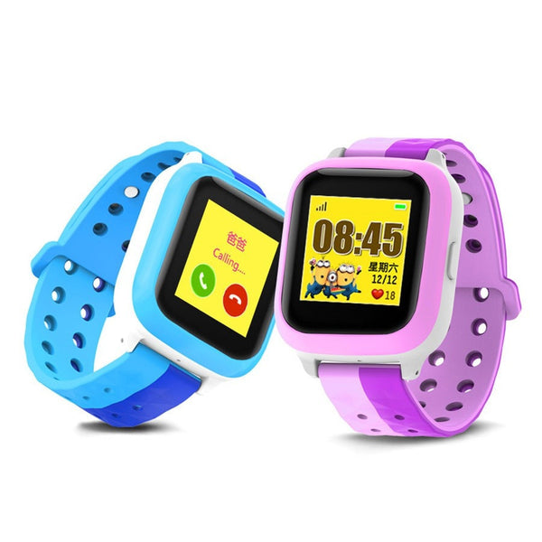 GPS Child Smart Watch E529 Waterproof Tracker Watch Location Finder Anti Lost With SOS Emergency Phone PK Q90 Q750 Kids Watch
