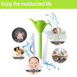 Epresent Green Air Humidifier Portable Amazing  Mini USB Clover Humidifier DC5V Air Mist Aromatherapy Diffuser Purifier with Water Cup Air Purification Light Function Perfect for Home Office Car  Air Diffuser Mist Maker
