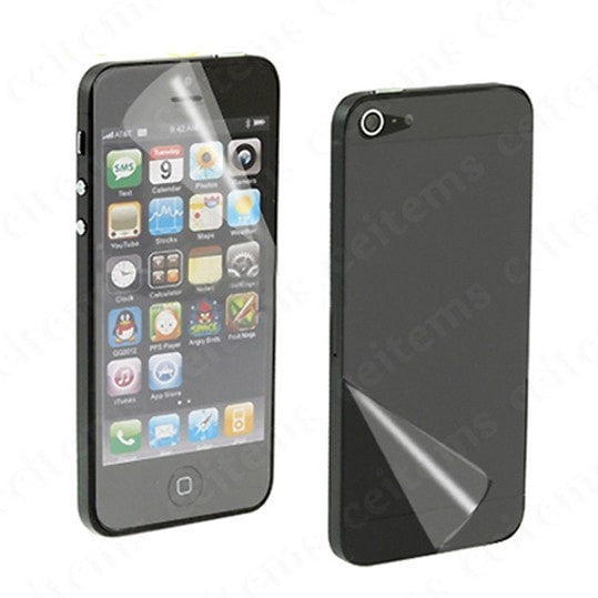 iphone 5 front and back screen guard Protector