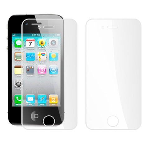 Screen Guard Iphone Front And Back Protector 4 Scratch Apple Clear