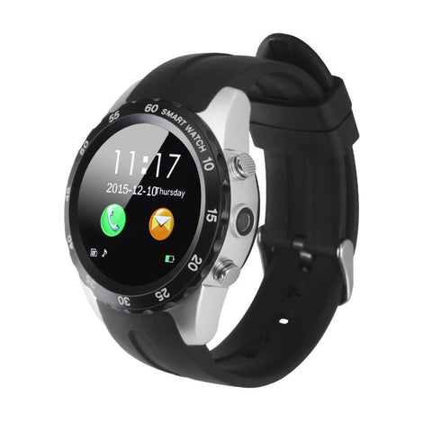 KW08 Smartwatch Waterproof Wrist Watch Support Heart Rate Monitor for Smartphones Android