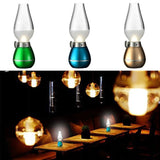 Epresent LED Lamp Rechargeable Retro USB Classic Blow LED Blow Oil Lamp Vintage Night Light Blowing Control Candle Lamp