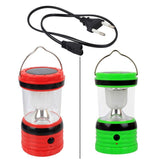 Epresent LED Solar Rechargeable Camping Lantern AA Battery Usb Power Bank High Bright Soft Lens Solar Led Lantern and USB Cell Phone Charger