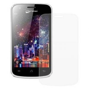 Clear HD Screen Protector Scratch Guard for Micromax A59 Bolt