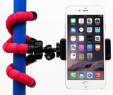 Epresent Portable and Adjustable Flexible Octopus Tripod Stand with Clip Bracket Monopod Mount Holder Selfie Stand for Mobile Phone, Cellphone, Smartphone, Digital Camera WITH FREE CARD READER
