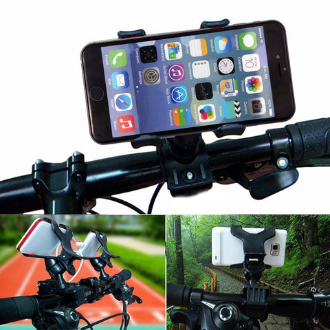 Smart Universal Bike Bicycle Handle Phone Mount Cradle Holder Cell Phone Support