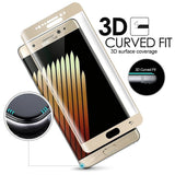 Epresent Tempered Glass for samsung galaxy note 7 9H 0.2mm 3D curved surface full cover Premium tough tempered glass film for samsung galaxy note 7 S7 edge s6 edge plus screen protector WITH FREE EARPHONE