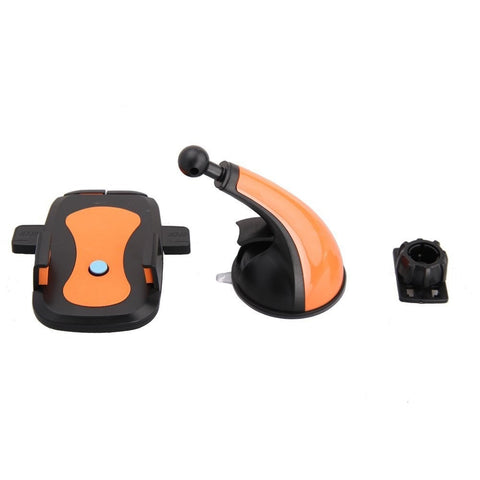 Universal Car Mount Holder Phone Holder For Samsung Galaxy S3 S4 S5 Galaxy Note 2 3 4 Lenovo And All Smartphones Orange