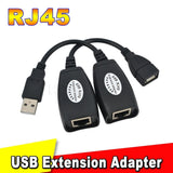 Epresent USB RJ45 Male And Female Cat 5e 6e USB Extension Adapter USB Cable RJ45 Lan Cable UPTO 150 FT LENGTH