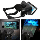 Epresent Virtual 3d Glass + 3d Card Board + Screen Magnifer + Camera Lens + Universal Mobile Stand 5 IN ONE COMBO OFFER
