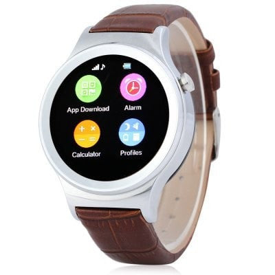 Epresent T3 Circular Smart Watch Phone Touch Screen Pedometer SMS Call Function