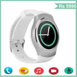 Epresent WEARABLE Epresent  G3 Smart Watch Phone With Sim Micro SD Card Perdometer For Android IOS Circular Smartphones Heart Rate Monitor