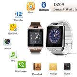 EPRESENT WEARABLE Smart Watch Phone DZ09 1.56 inch Touch Screen Bluetooth 3.0 Sync Call/SMS/Phonebook Sleep Tracker Sports for Smartphone
