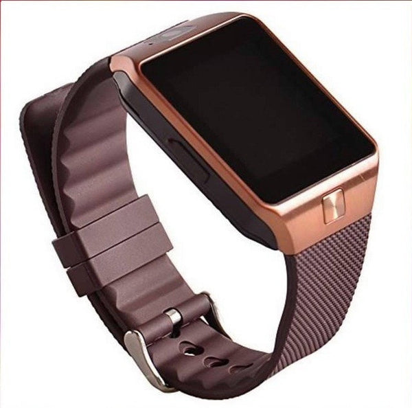 Smart Watch Phone DZ09 1.56 inch Touch Screen Bluetooth 3.0 Sync Call/SMS/Phonebook Sleep Tracker Sports for Smartphone
