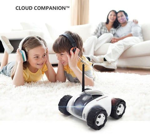 Wireless Home Security For Children Babies Spy Toy Car Home Security Wireless WiFi IP Camera Baby Monitor Remote Control