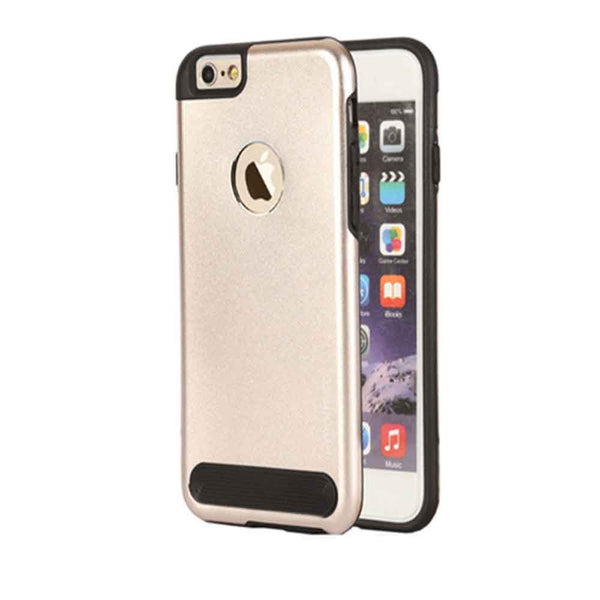 Apple iPhone 6/6s Iphone 6/6s Plus Back Case Gold for Hybrid Tough Armor Back Case for Apple iPhone 6/6s 6/6S Plus (Gold)