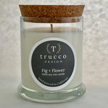 Load image into Gallery viewer, Fig + Flower Soy Candle