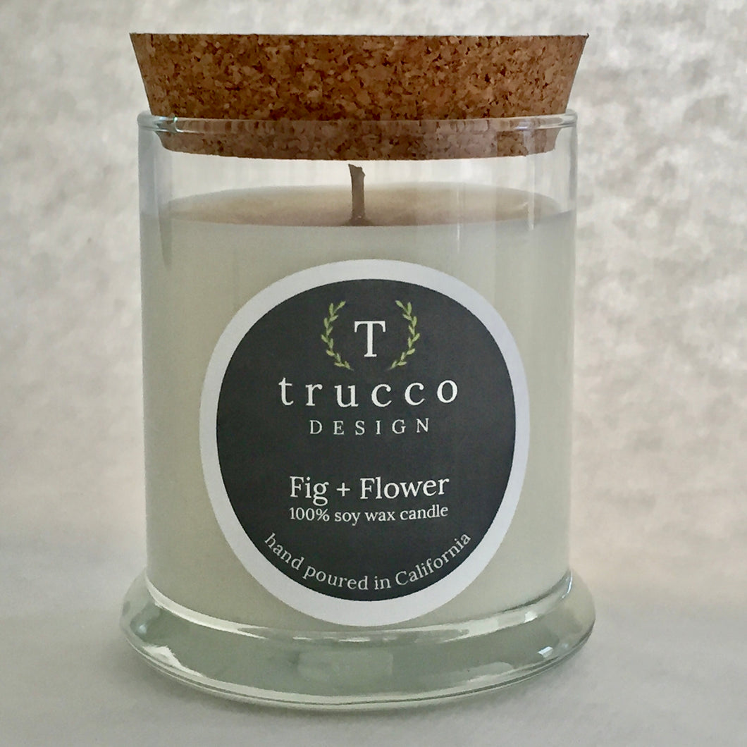Fig + Flower Soy Candle