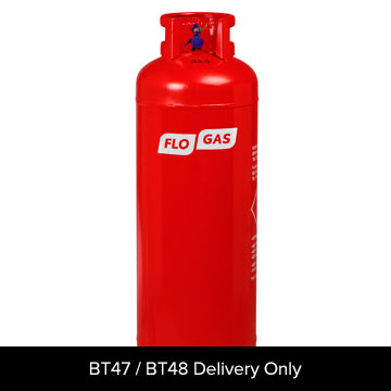 Propane Cylinder + Fill 47Kg  (BT47/BT48 only)