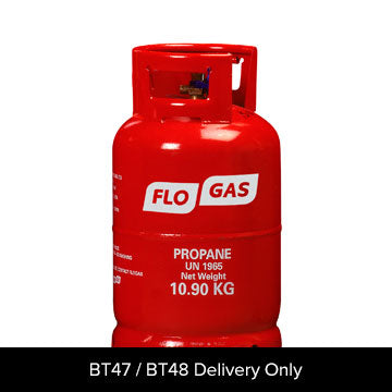 Propane Cylinder + Fill 10.89Kg  (BT47/BT48 only)
