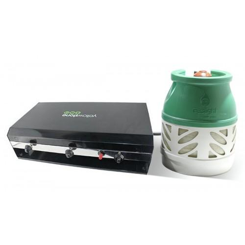 Yellowstone and 5kg Propane Gaslight Cylinder Package