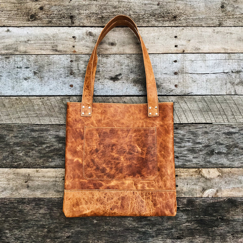 Leather Bag - Vintage Tan