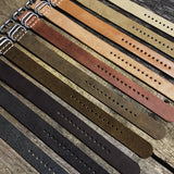 Chocolate 3 Ring Watch Strap