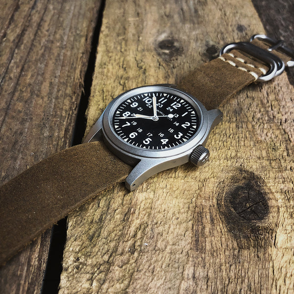 Moss 3 Ring Watch Strap
