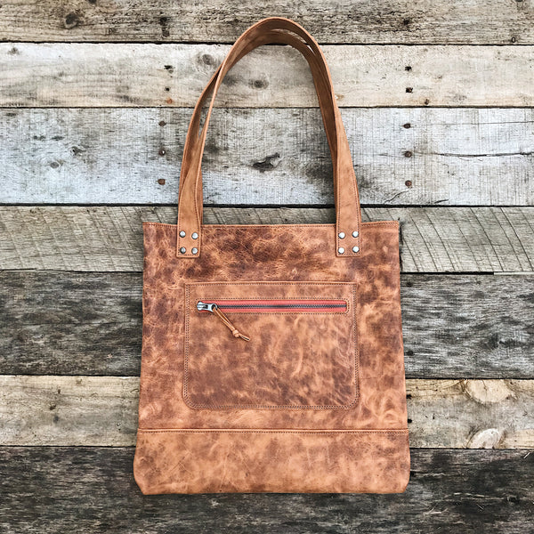 Leather Bag - Vintage Spice