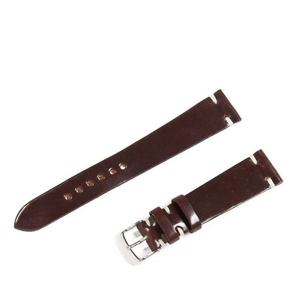 Color No. 8 Shell Cordovan 2 Pc. Watch Strap