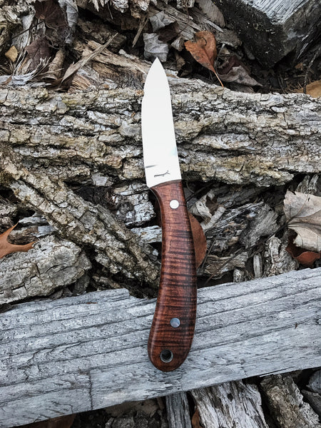 Curly Koa Hawthorn knife