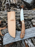 Black Ash Burl Hawthorn knife