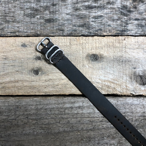 Dk. Brown 3 Ring Watch Strap