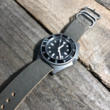 Steel 3 Ring Watch Strap