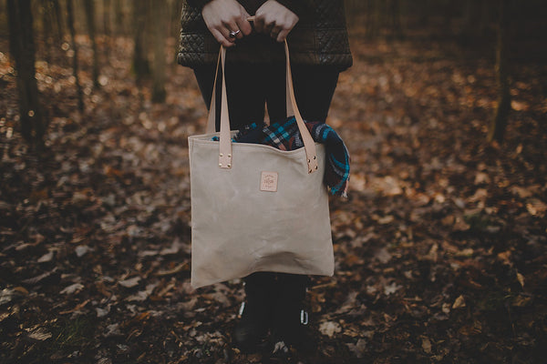 Canvas Tote - Natural