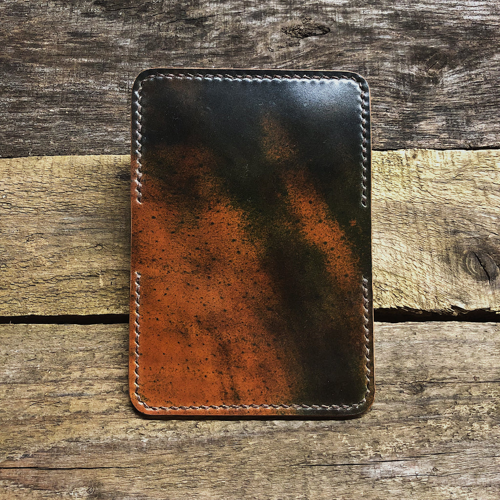 Marbled Shell Cordovan 2 Pocket Wallet