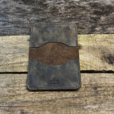 Steel 2 Pocket Wallet