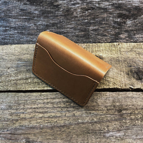 Tan 3 Pocket Wallet