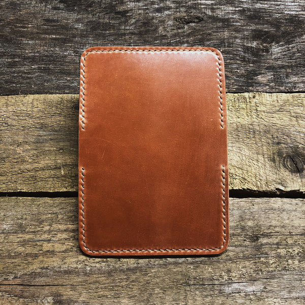 Natural Shell Cordovan 2 Pocket Wallet