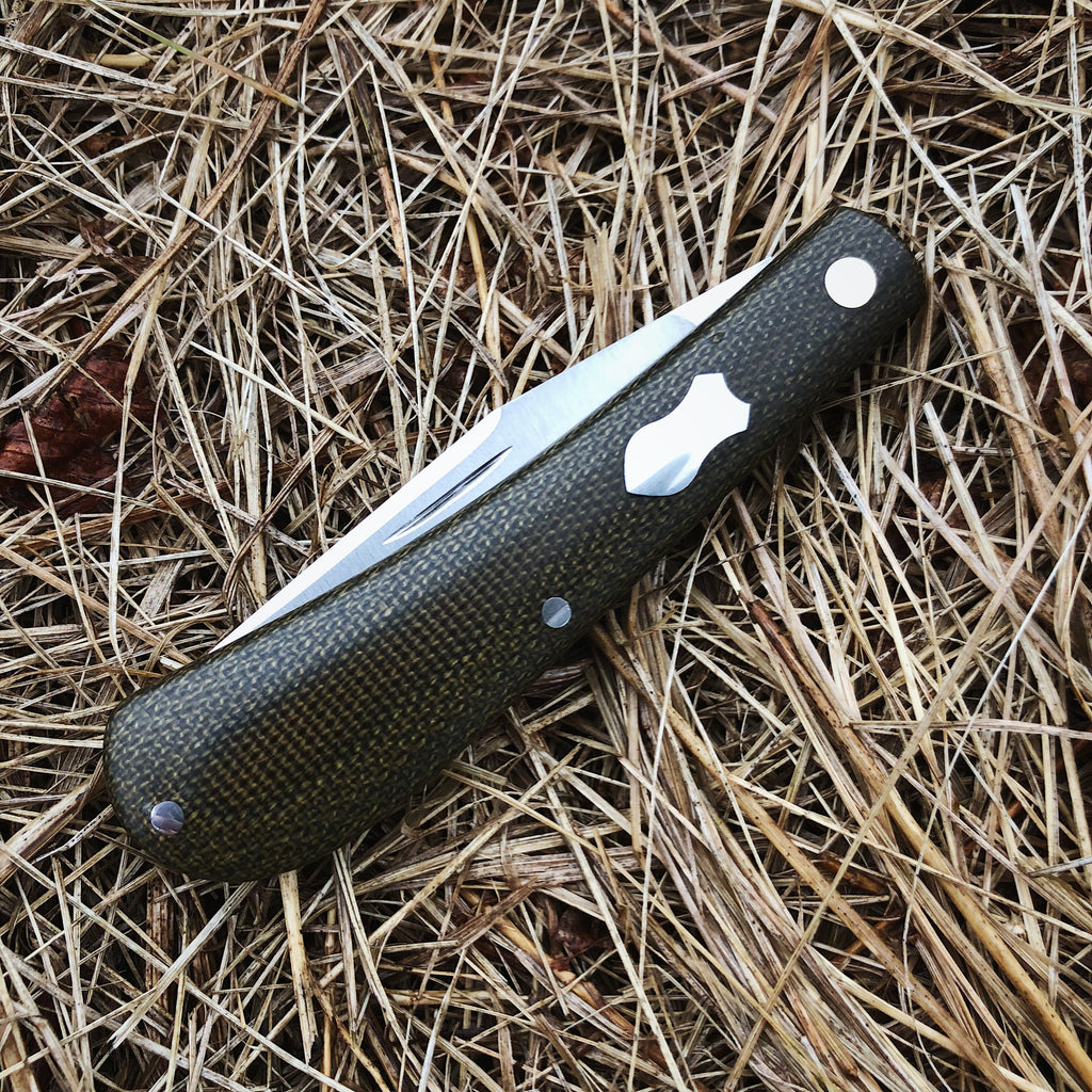 Olive Pocket Knife