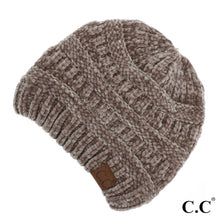 Load image into Gallery viewer, C.C® Chenille Knit Beanie