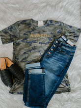 Load image into Gallery viewer, Amen Camo Tee