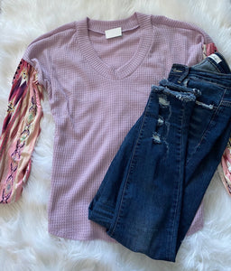 Lacee Lilac Top